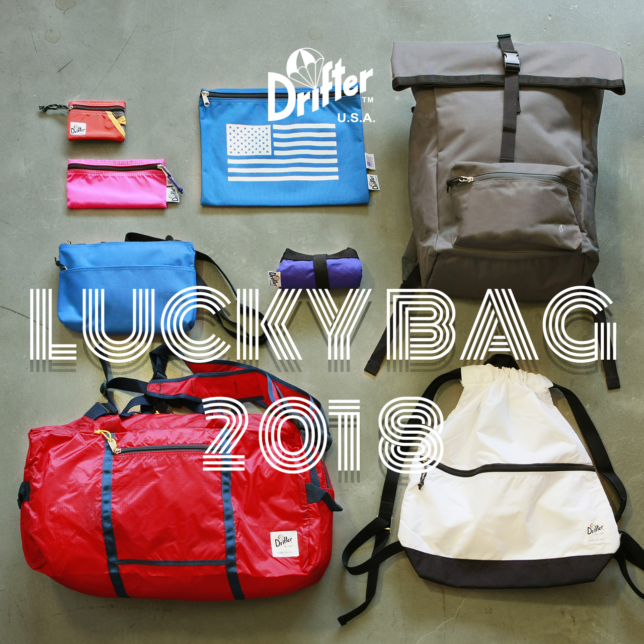 Drifter LUCKY BAG 2018